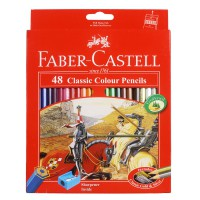 Faber Castell Classic Colour Pencils (Isi 48)