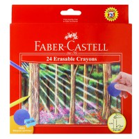 Faber Castell Erasable Crayons Set (Isi 24)