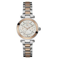 GC Guess Collection Jam Tangan Wanita Silver Rosegold Stainless Steel Y06002L1