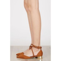 Audrey Kitten Heels BROWN