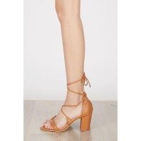 Maryse Block Heels BROWN