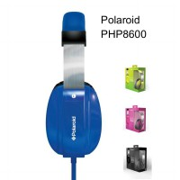 Original Polaroid PHP8600 Extra Bass Series Headphones With Mic