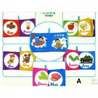 [Sun Baby][New Arrival]Book Teether/Buku Bayi/Softbook teether