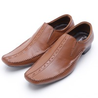 Dr.Kevin Genuine Leather Shoes 83148 Brown