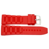 [poledit] BLACK 22MM RUBBER COMPOSITE HIGH QUALITY SPORT WATCH BAND STRAP FITS LUMINOX/4150121