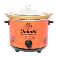 TAKAHI Slow Cooker 1.2 L Heat Resistant - Red