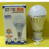 [Stark] Led Lampu LED INSTA Smart Bulb 5 Watt Cool Day Light Putih