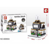 Sembo Block SD6504 Jewelry Store 186 Pcs