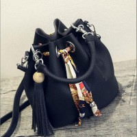 WOMAN FASHION BAGS #ELV87269 WITH LONG STRAP IMPORT KOREA