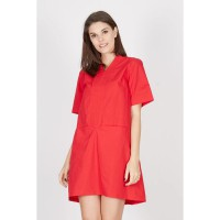 Genevieve Red Dress