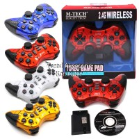 M-TECH Gamepad Single Wireless Turbo