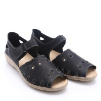 [Free Ongkir*} 2Colors Dr.Kevin Leather Sandals : 66112 Black, Brown