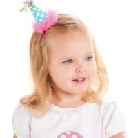 Mudpie Chiffon Party Hat Clip #176421
