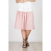 Halina Skirt Dusty Pink