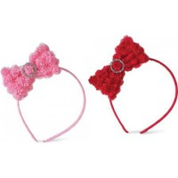 Mudpie Chiffon Rosette Big Girl Headband #176214