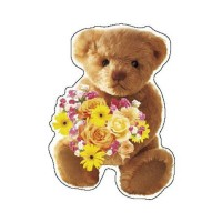 Beverly Jigsaw Shape Puzzle Happy Teddy