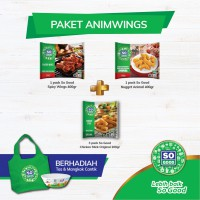 SO GOOD NUGGET PAKET ANIMWINGS [FREE TAS DAN MANGKOK]