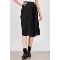 Hendry Black Pleat Skirt