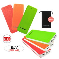 Delcell ELV Powerbank 12300mAh Free Delcell Pouch