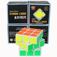 Rubik Rubik Dus 3 Three Layer Full Color YJ3002