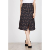Helish Slit Skirt Black