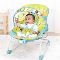 Mastela Bouncer Newborn To Toddler Rocker 6904 Green 3-18 kg