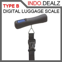 PREMIUM DIGITAL TRAVEL LUGGAGE SCALE (TYPE B) WITH BACKLIGHT
