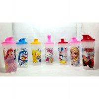GELAS/ TUMBLE + TUTUP DISNEY FUNNEL 8008 (500ML)