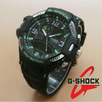 Jam Tangan G-Shock New Speedo Dualtime Black Grey