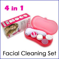 facial cleaning set 4 in 1 + box