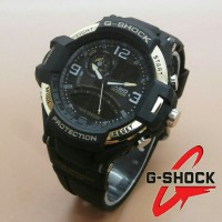 Jam Tangan G-Shock New Speedo Dualtime Black Gold