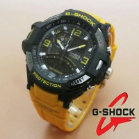 Jam Tangan G-Shock New Speedo Dualtime Yellow