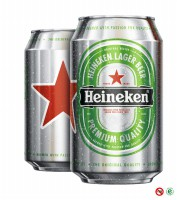 Beer Heineken lager (1 box)
