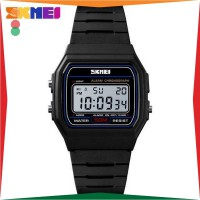 Promo Spesial Jam Tangan Pria / Wanita Digital SKMEI Original 1412 Anti Air Casio