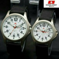 [SWISSARMY] JAM TANGAN COUPLE CANVAS CASSUAL