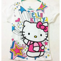 Kaos Anak Karakter Motif Hello Kitty, Frozen, Sofia The First [M501]