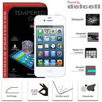 Delcell Tempered Glass iPhone 4 - 4S