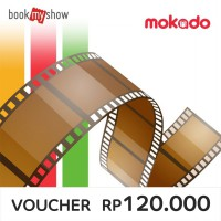 BookMyShow Disc. Movie Voucher for 2 Regular Ticket (Normal Price for 2 Ticket up to Rp. 120.000)