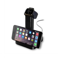 Best Quality Portable Charging Stand For Apple Watch - Hitam