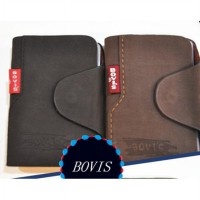 Credit Card Holder Bahan Kulit Bovis
