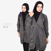 JAKET HIJACKET - PREMIUM FLEECE - HJ23 - Hijacket Misty x Purple