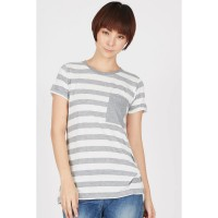 AG Stripes Shirt Grey