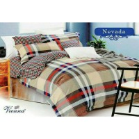Bed cover [Only] katun lokal halus Nevada size 180x230