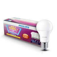 PHILIPS LED Bulb 10.5W UNICEF Beli 3 Gratis 1 - Putih