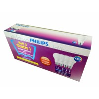 PHILIPS LED Bulb 13W UNICEF Beli 3 Gratis 1 - Putih