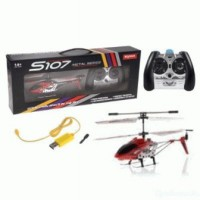 SYMA S107 Metal 3 Ch Channel RC Helicopter, Remote Control Helicopter, SJ0012