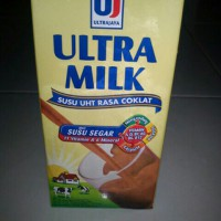 ultra milk coklat 1000 ml