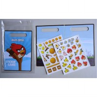 STICKER GAME 'ANGRY BIRDS' SINGAPORE AIRLINES