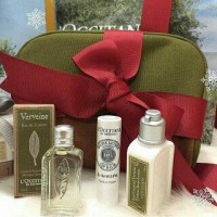 PAKET TRAVEL KIT LOCCITANE (9 ITEMS + POUCH BAG) 100% BARU DAN FRESH