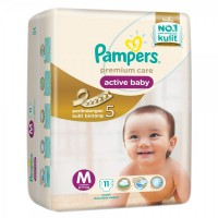 PAMPERS PREMIUM CARE TAPED M 11